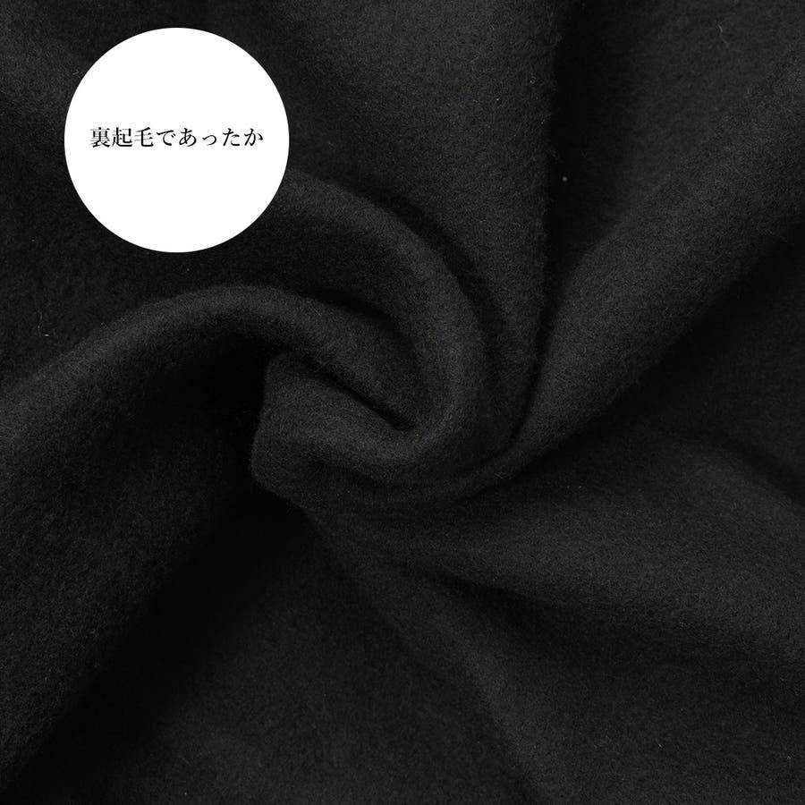 フードの英字ロゴも可愛さアップ!バックスタイルロも可愛い決まるパーカー/韓国ファッション/パーカー/スウェット/ 秋 秋冬トップス 6