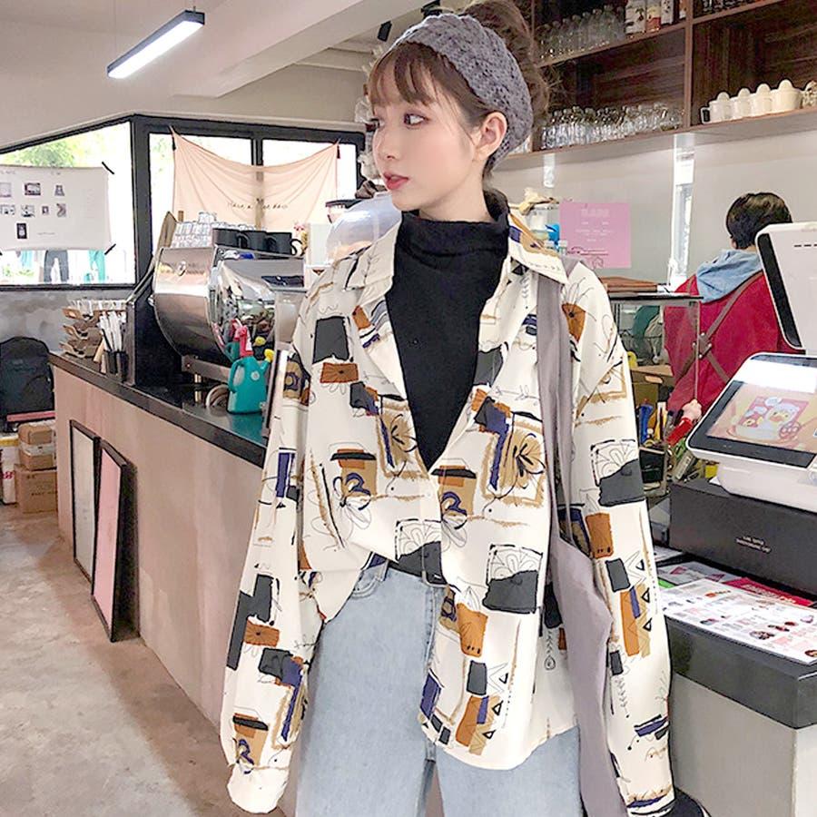 2020秋冬新作 ゆったりとしたシルエットが絶妙に可愛い♪!羽織りとしても♪ 2