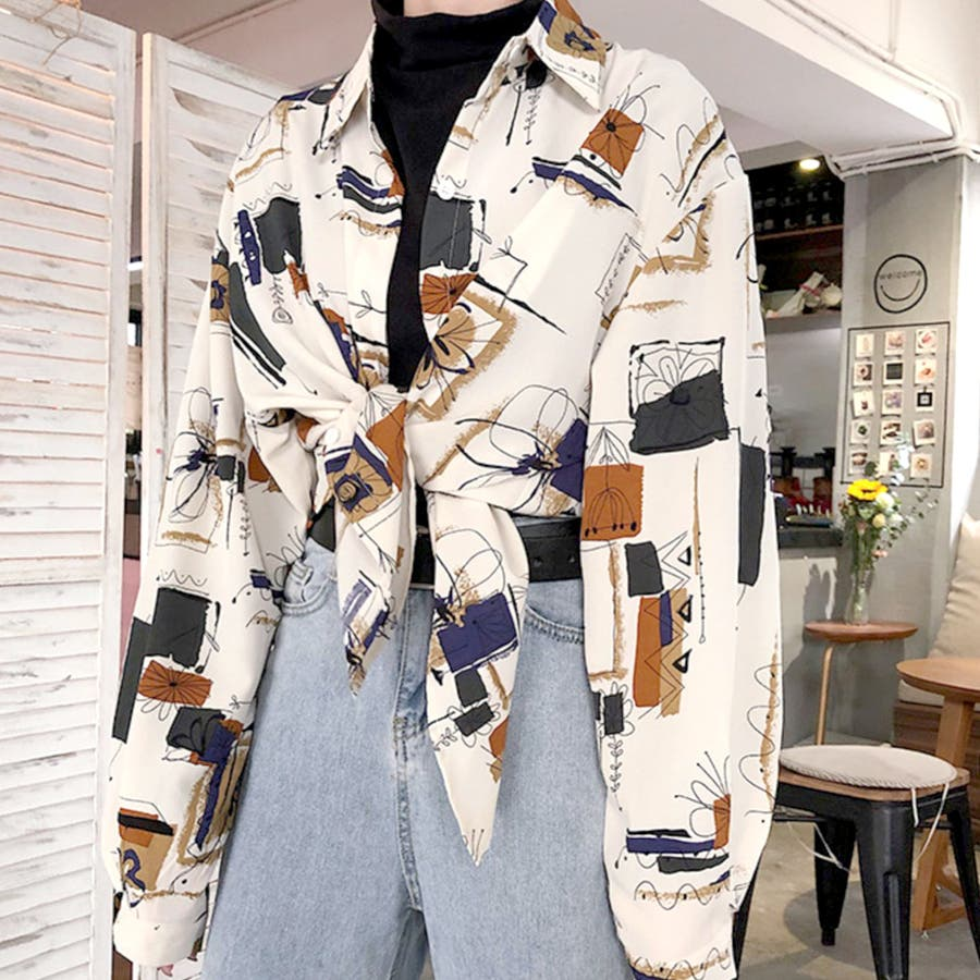 2020秋冬新作 ゆったりとしたシルエットが絶妙に可愛い♪!羽織りとしても♪ 3