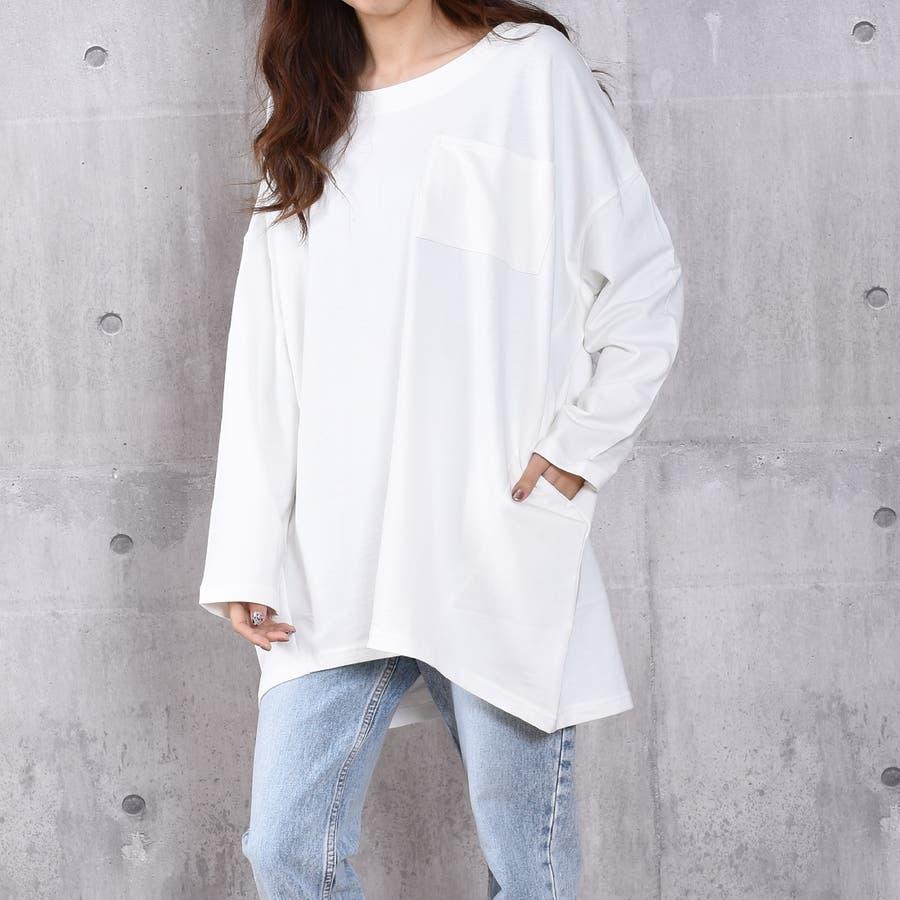2020新作 ミニ裏毛ビッグシルエットコクーンTシャツ 3