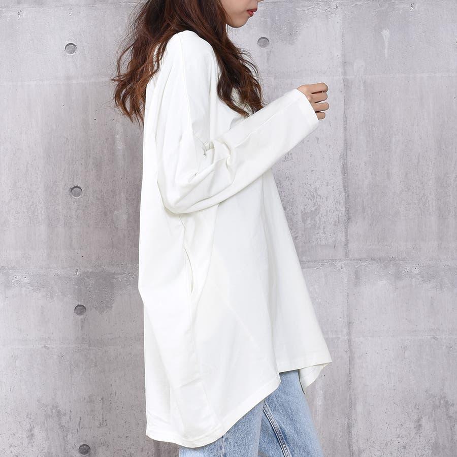 2020新作 ミニ裏毛ビッグシルエットコクーンTシャツ 4