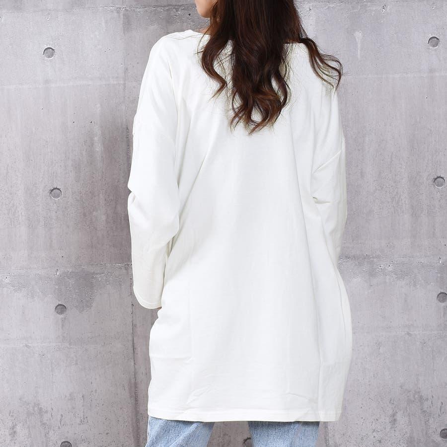 2020新作 ミニ裏毛ビッグシルエットコクーンTシャツ 5