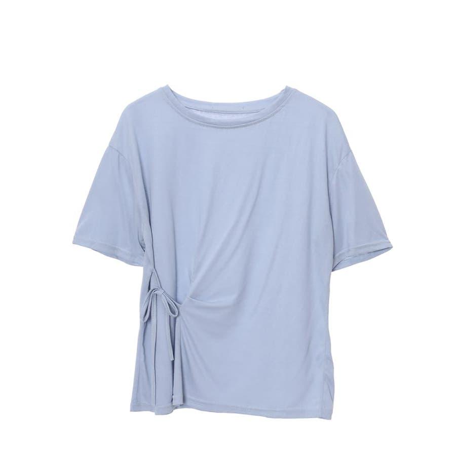 サイドリボンTシャツ/秋 冬 秋冬 AW autumn winter 先行 2