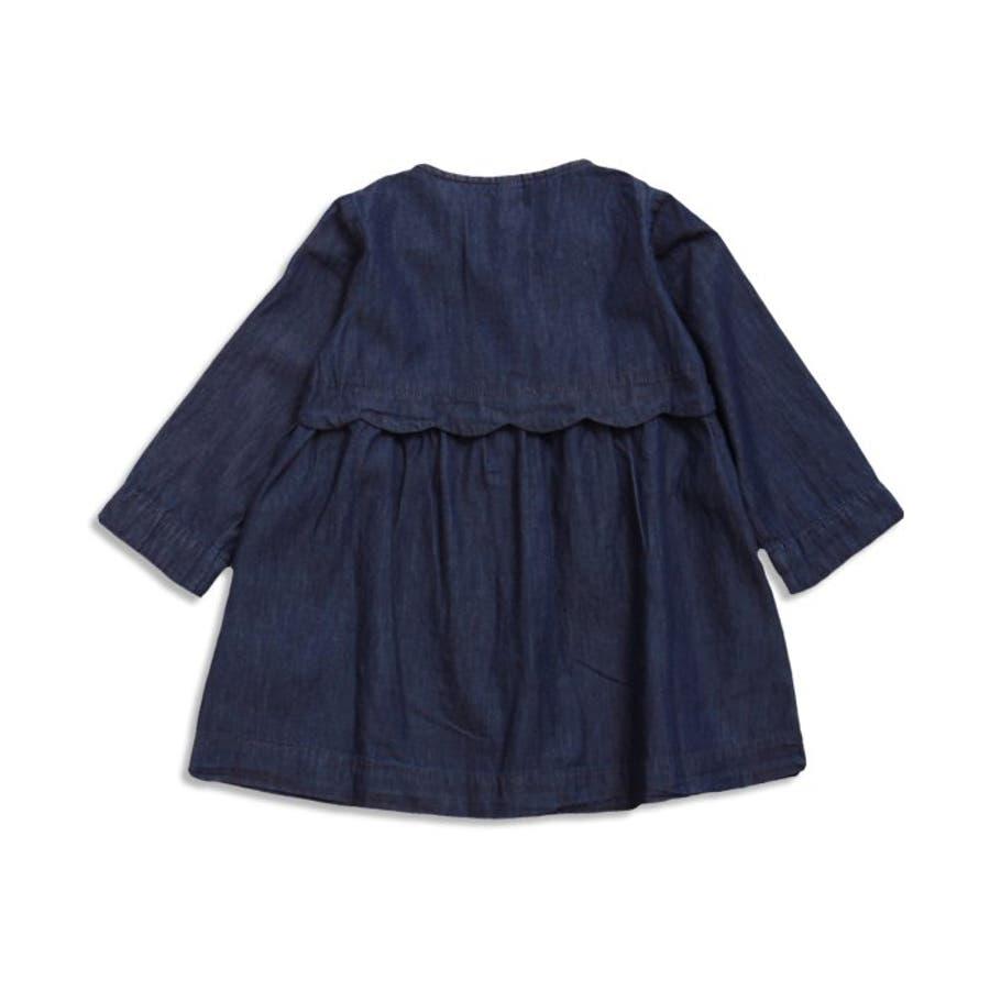 007959509bded コートワンピース▽▽apreslescoursアプレレクールサニーランドスケープ子供服キッズベビーワンピースジャンパー