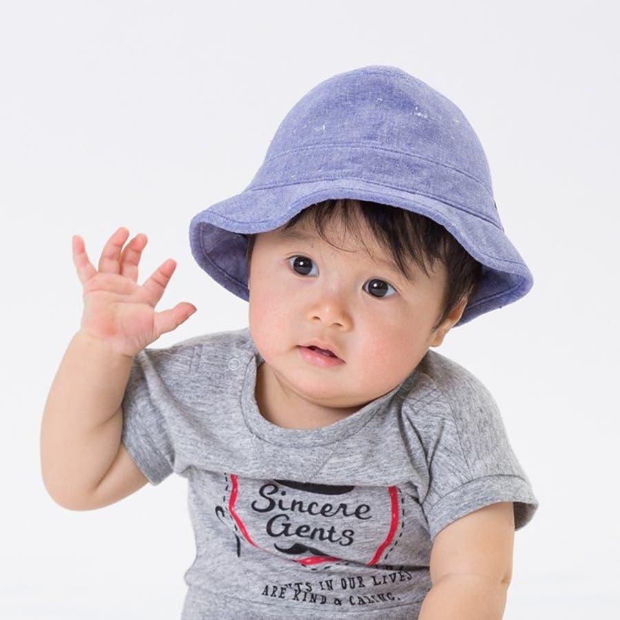 8513d44d8ab411 ジェントルベビーハット(UVカット)▽▽apreslescoursアプレレクールサニーランドスケープ子供