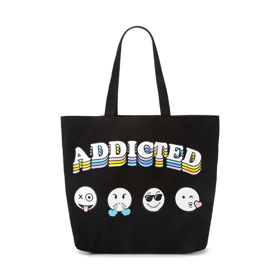 Addicted 絵文字トートバッグ【FOREVER21公式】