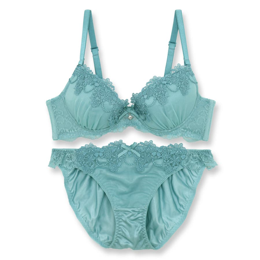 Romantic Veil ロマンティックベール ブラ&ショーツセット B65-G80カップ 58