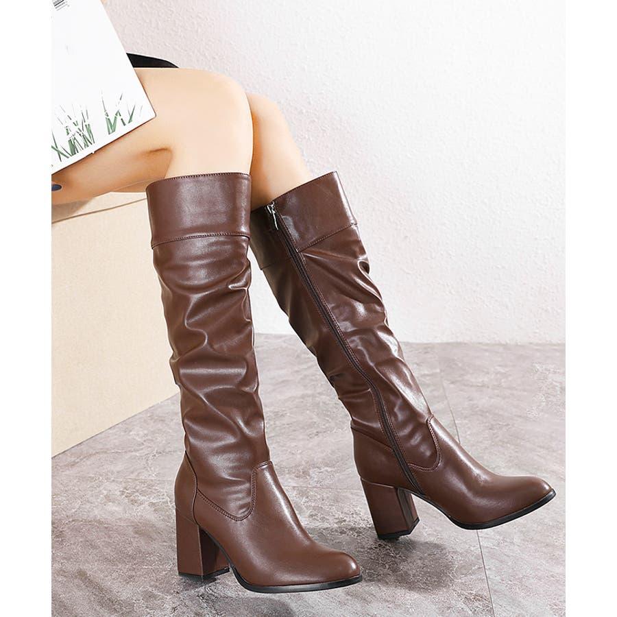 ロングブーツ ギャザーブーツ ブーツ 29