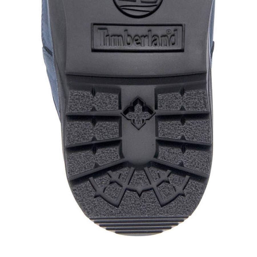 Timberland ティンバーランド FIELD BOOT WATERPROOF L/F MID BOOTメンズブーツ(フィールドブーツウォータープルーフレザー&ファブリックミッドブーツ) A1XMX ネイビーヌバック 8