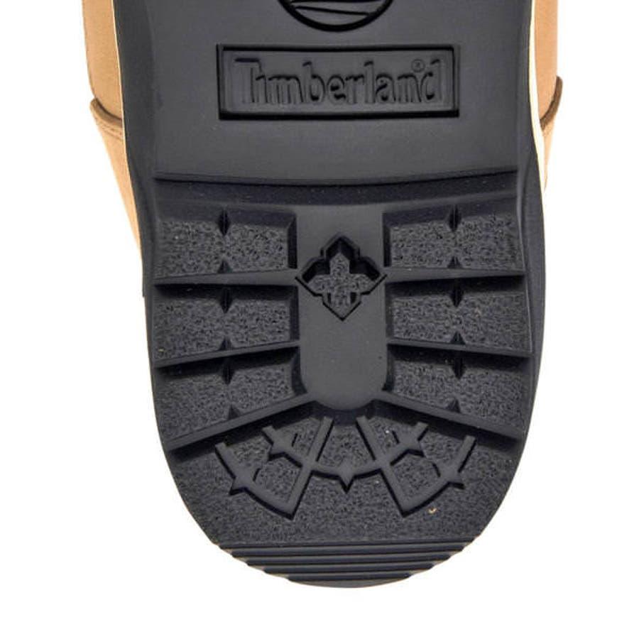 Timberland ティンバーランド FIELD BOOT WATERPROOF L/F MID BOOTメンズブーツ(フィールドブーツウォータープルーフレザー&ファブリックミッドブーツ) A1XP5 ミディアムベージュヌバック 8