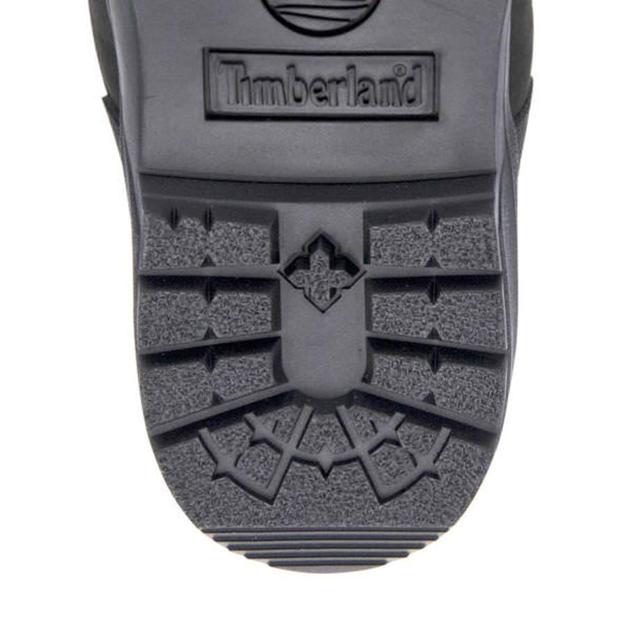 Timberland ティンバーランド FIELD BOOT WATERPROOF L/F MID BOOTメンズブーツ(フィールドブーツウォータープルーフレザー&ファブリックミッドブーツ) A1A12 ブラックヌバック 8