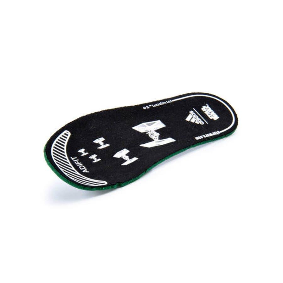 adidas アディダス STARWARS KYLO REN EL I ベビースニーカー(スターウォーズカイロレンELI)G27544 コアブラック/スカーレット/コアブラック 10