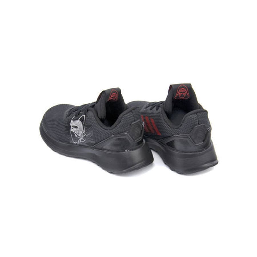adidas アディダス STARWARS KYLO REN EL I ベビースニーカー(スターウォーズカイロレンELI)G27544 コアブラック/スカーレット/コアブラック 3