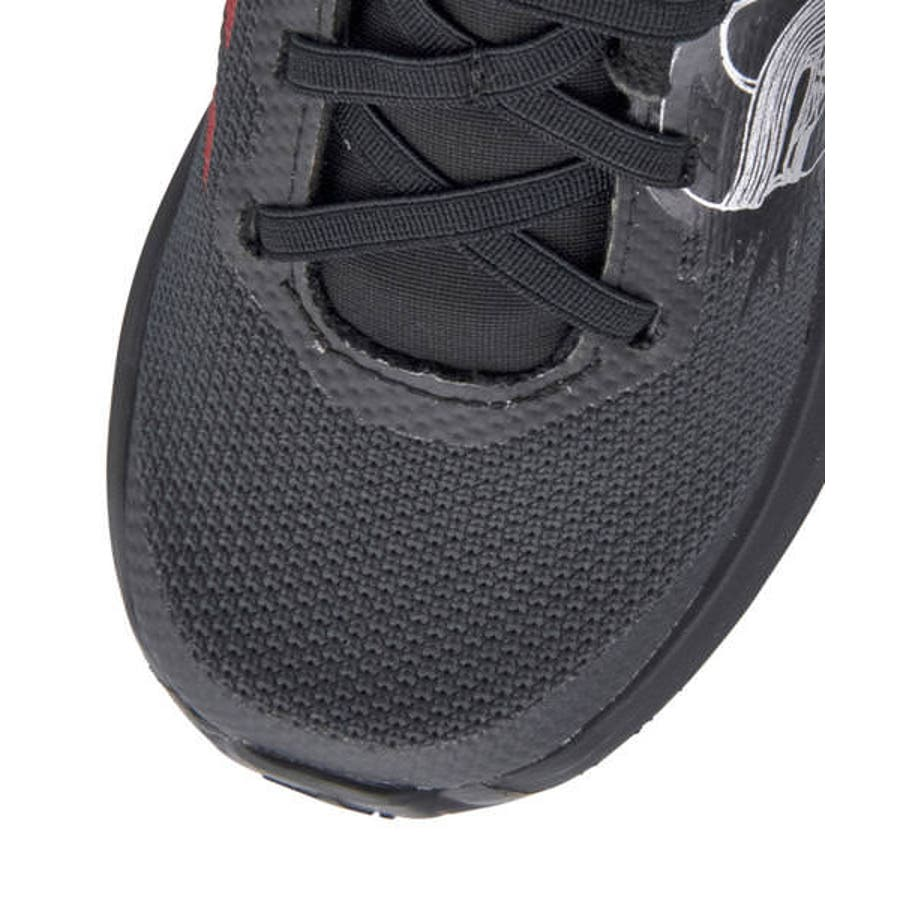adidas アディダス STARWARS KYLO REN EL I ベビースニーカー(スターウォーズカイロレンELI)G27544 コアブラック/スカーレット/コアブラック 6