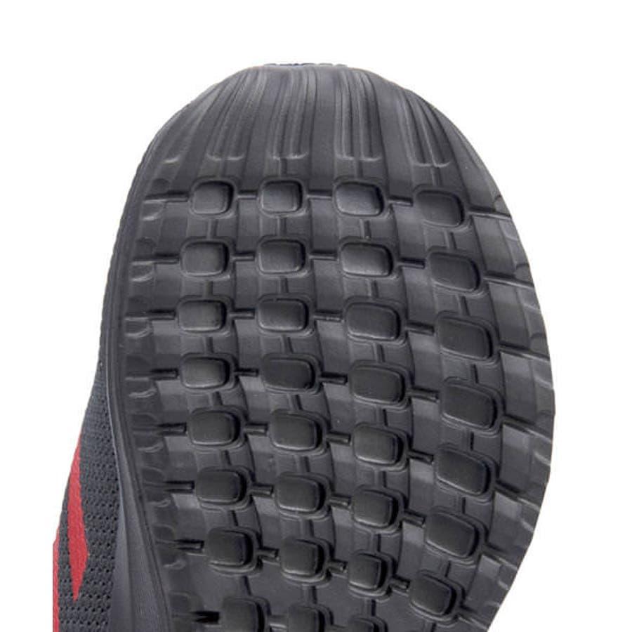 adidas アディダス STARWARS KYLO REN EL I ベビースニーカー(スターウォーズカイロレンELI)G27544 コアブラック/スカーレット/コアブラック 7