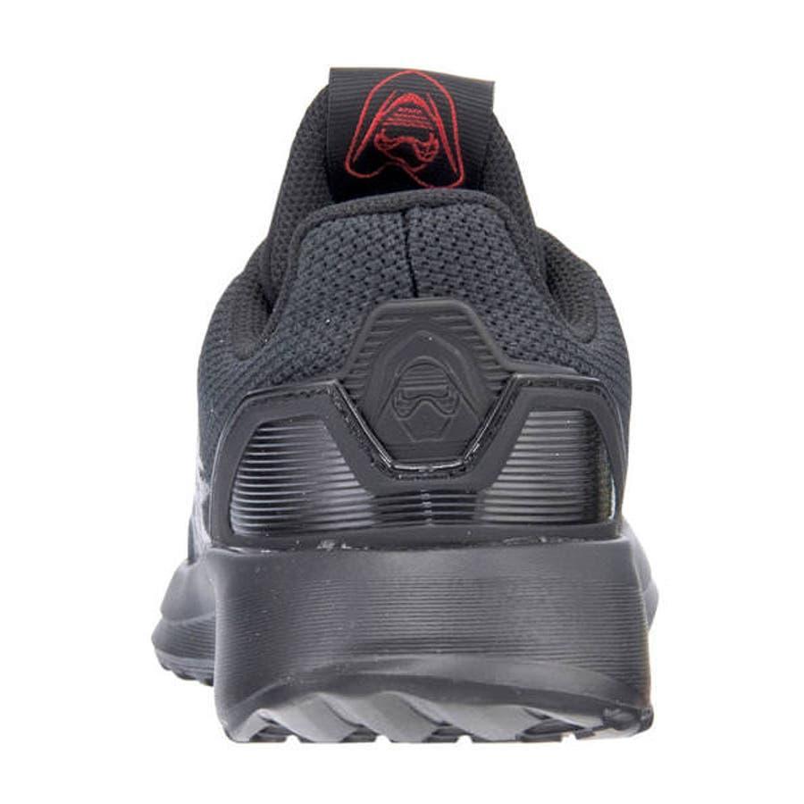 adidas アディダス STARWARS KYLO REN EL I ベビースニーカー(スターウォーズカイロレンELI)G27544 コアブラック/スカーレット/コアブラック 9