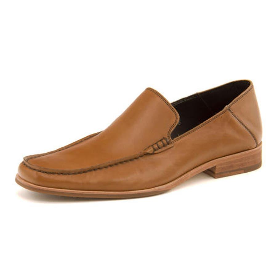 Whoop-de-doo(フープディドゥ) メンズ Uモカスリッポン 304764 キャメル | ビジネスシューズ メンズビジネスビジネス シューズ 靴 くつ ビジネス靴 仕事 ワークシューズ 紳士靴 紳士 おしゃれ ビジネスマン 男性 通勤メンズビジネスシューズ メンズシューズ ローカット 1