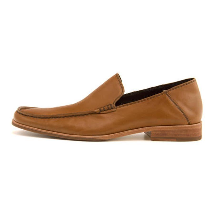 Whoop-de-doo(フープディドゥ) メンズ Uモカスリッポン 304764 キャメル | ビジネスシューズ メンズビジネスビジネス シューズ 靴 くつ ビジネス靴 仕事 ワークシューズ 紳士靴 紳士 おしゃれ ビジネスマン 男性 通勤メンズビジネスシューズ メンズシューズ ローカット 4