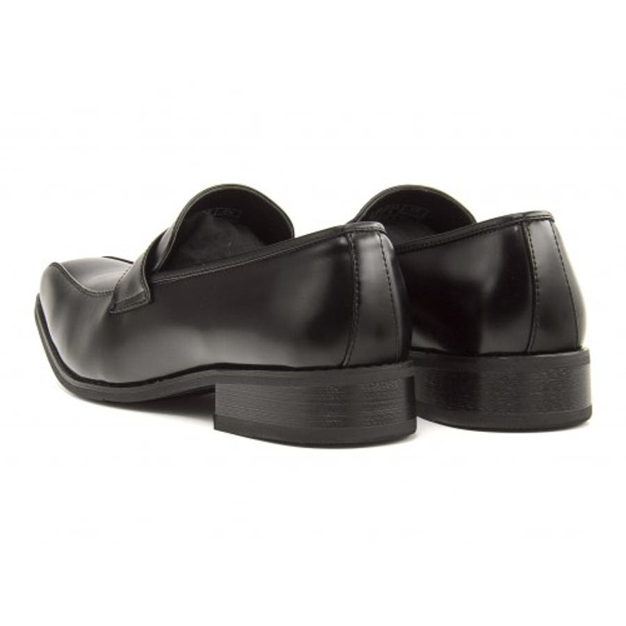 FOB ASBee(エフオービーアスビー) メンズ ビジネスシューズ 914340 ブラック|メンズビジネス ビジネス シューズ 靴くつ ビジネス靴 仕事 ワークシューズ 紳士靴 紳士 おしゃれ ビジネスマン 男性 通勤 メンズビジネスシューズ メンズシューズローカット ローカットシューズ 3