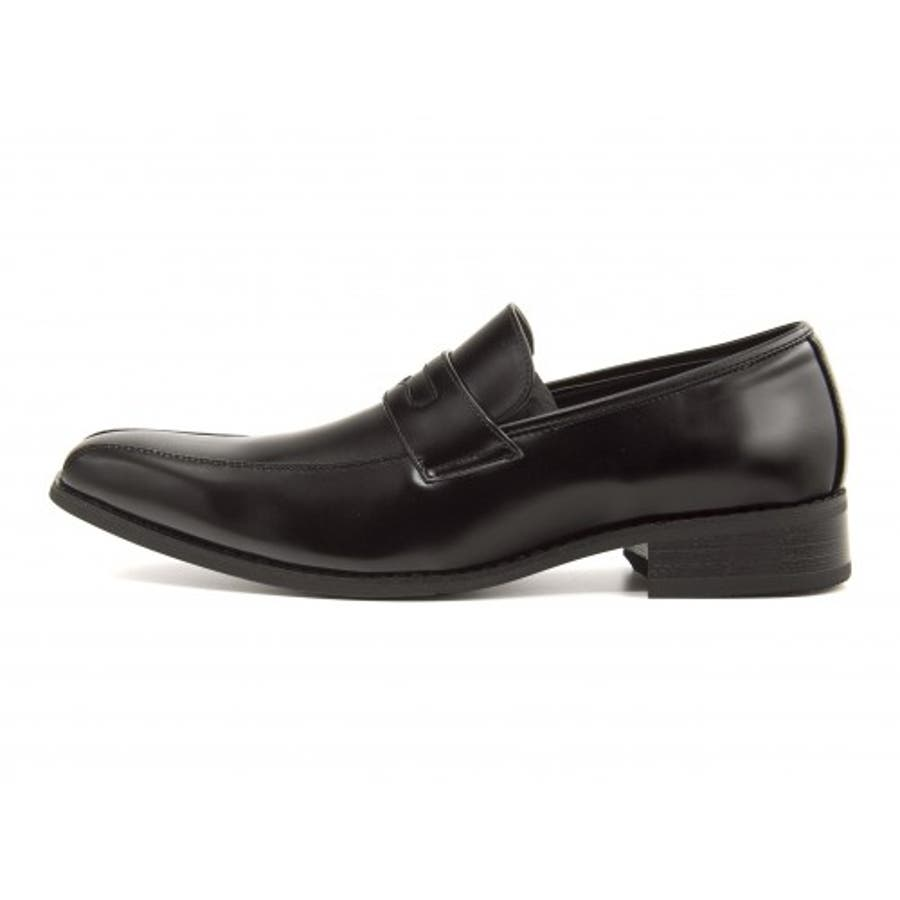 FOB ASBee(エフオービーアスビー) メンズ ビジネスシューズ 914340 ブラック|メンズビジネス ビジネス シューズ 靴くつ ビジネス靴 仕事 ワークシューズ 紳士靴 紳士 おしゃれ ビジネスマン 男性 通勤 メンズビジネスシューズ メンズシューズローカット ローカットシューズ 4