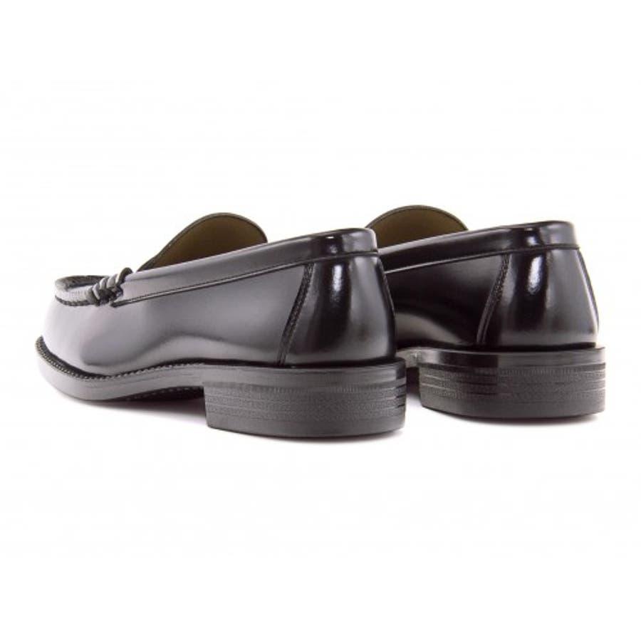 HARUTA (ハルタ) ローファー 6550ブラック 3E(24.0?27.5cm)|ビジネスシューズ メンズビジネス メンズビジネス シューズ 靴 くつ ビジネス靴 仕事 ワークシューズ 紳士靴 紳士 おしゃれ ビジネスマン 男性 通勤メンズビジネスシューズ メンズシューズ ローカットシューズ 3