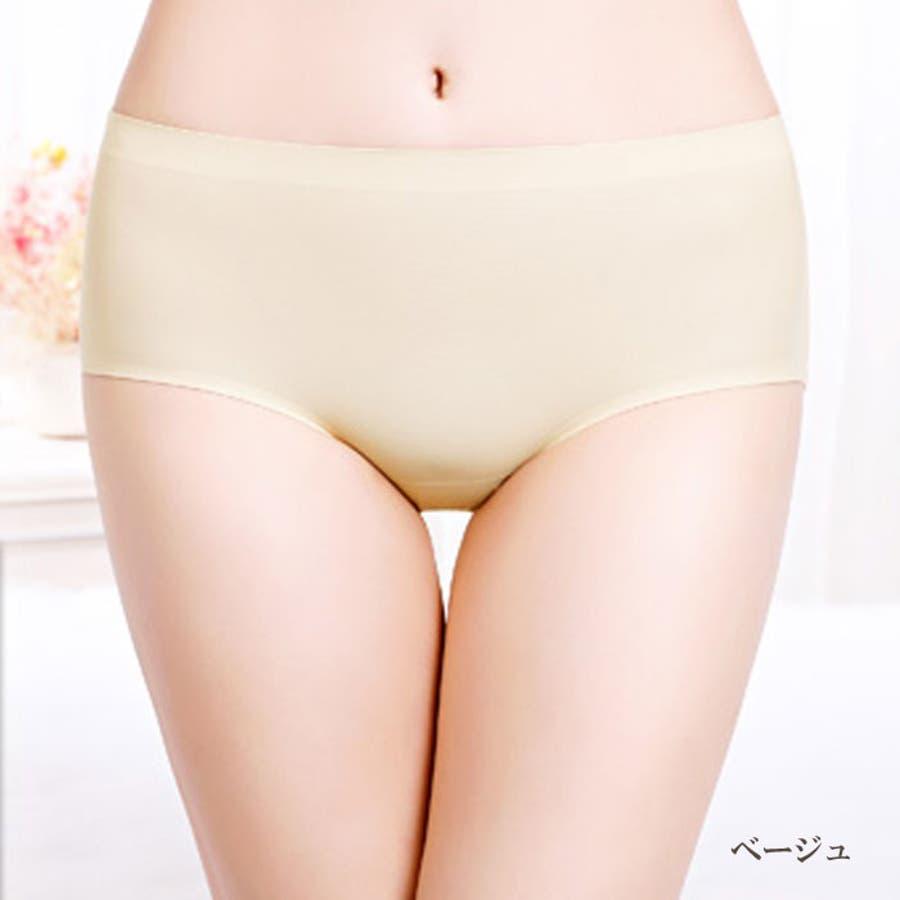 シームレスショーツ パンツ | 無縫製 レディース インナー シームレス ショーツ シームレスパンツ 縫い目無し パンティー 女性パンティーライン 響かない ひびかない 41