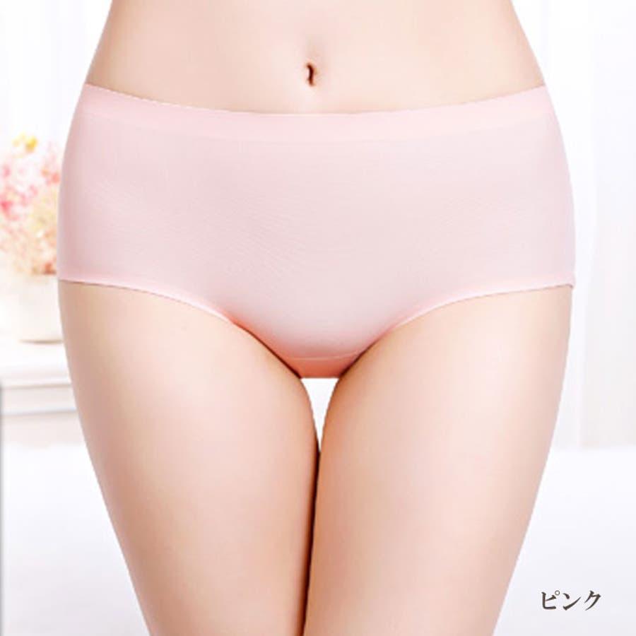 シームレスショーツ パンツ | 無縫製 レディース インナー シームレス ショーツ シームレスパンツ 縫い目無し パンティー 女性パンティーライン 響かない ひびかない 87