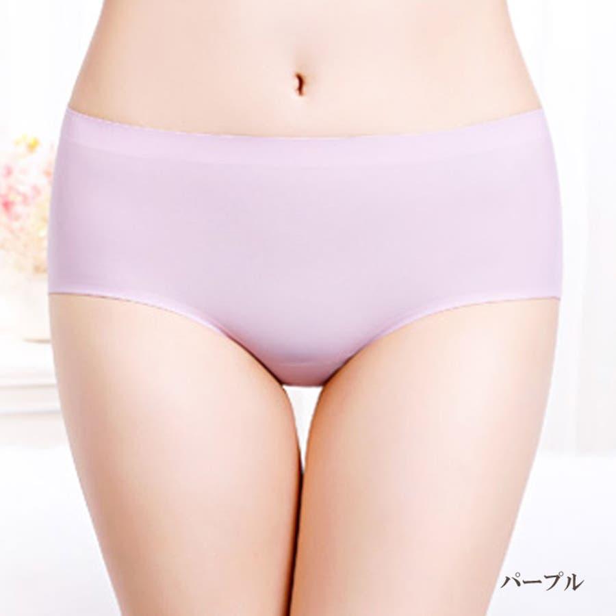 シームレスショーツ パンツ | 無縫製 レディース インナー シームレス ショーツ シームレスパンツ 縫い目無し パンティー 女性パンティーライン 響かない ひびかない 77