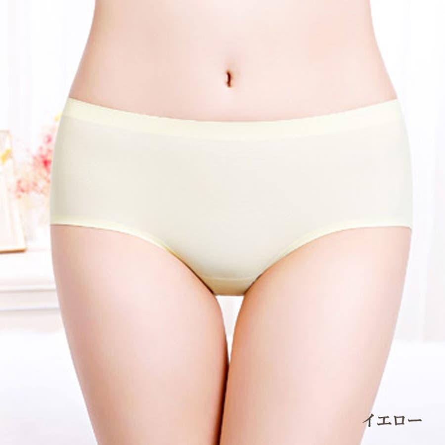 シームレスショーツ パンツ | 無縫製 レディース インナー シームレス ショーツ シームレスパンツ 縫い目無し パンティー 女性パンティーライン 響かない ひびかない 83
