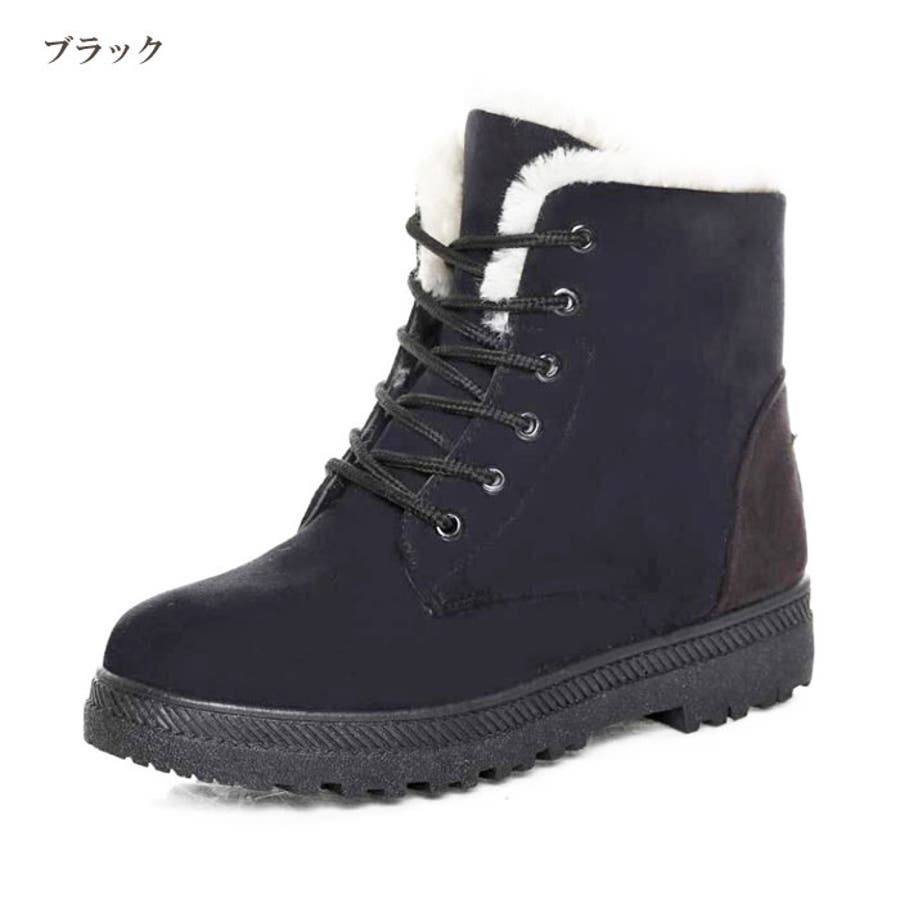 ムートン調 レディース ショートブーツ   ブーツ ボア あったか エンジニアブーツ 靴 秋冬 ブラック ブルー ベージュキャメルワインレッド グレー 21