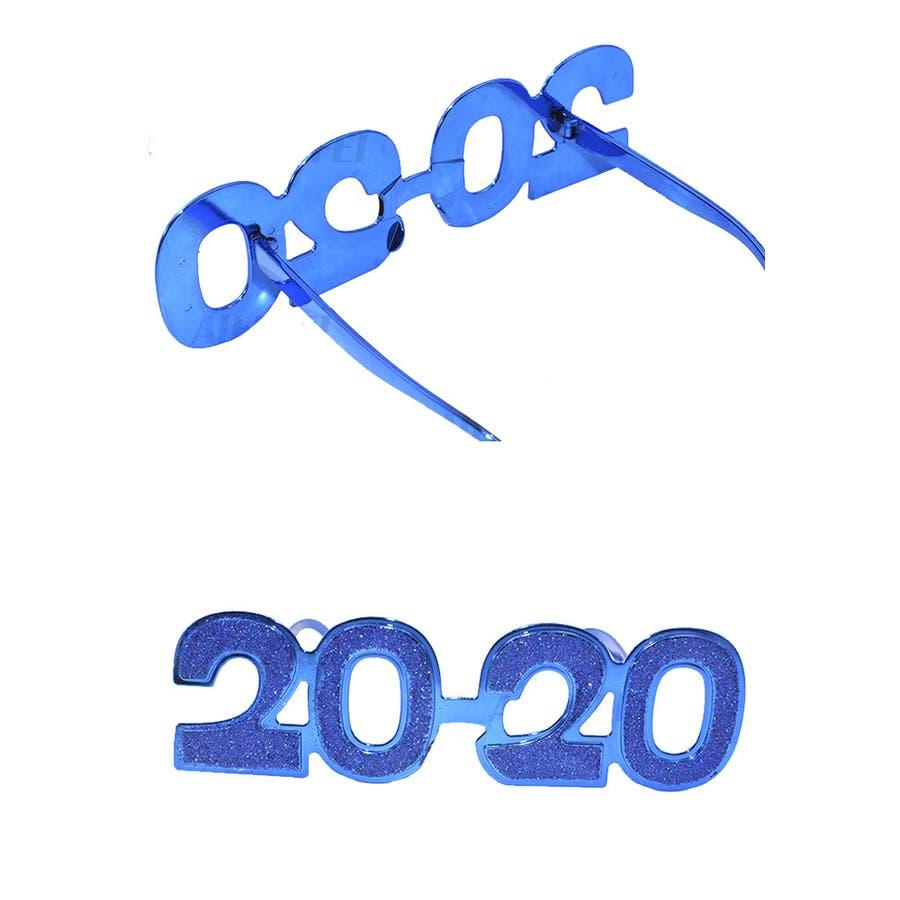 2020 ラメ めがね   キラキラ パーティー グッズ イベント オリンピック 仮装 変装 誕生日 コスプレ 余興 お正月 文化祭体育祭 運動会 ハロウィン ダンス コンテスト おもちゃ TOY 新年 カウントダウン 10