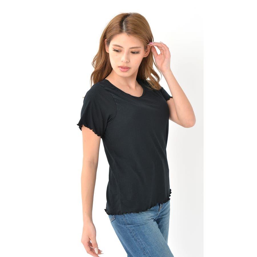 カップ付き リブ Tシャツ 半袖 綿 インナー レディース | ブラ ダンス ヨガ ヨガウェア ルームウェア ブラT さらさらナイトウェア ブラトップ ナイトブラ パッド付き 大きい サイズ 速乾 ストレッチ 伸縮性 通気性 締め付けない カットソー くつろぎ柔らか パジャマ 4