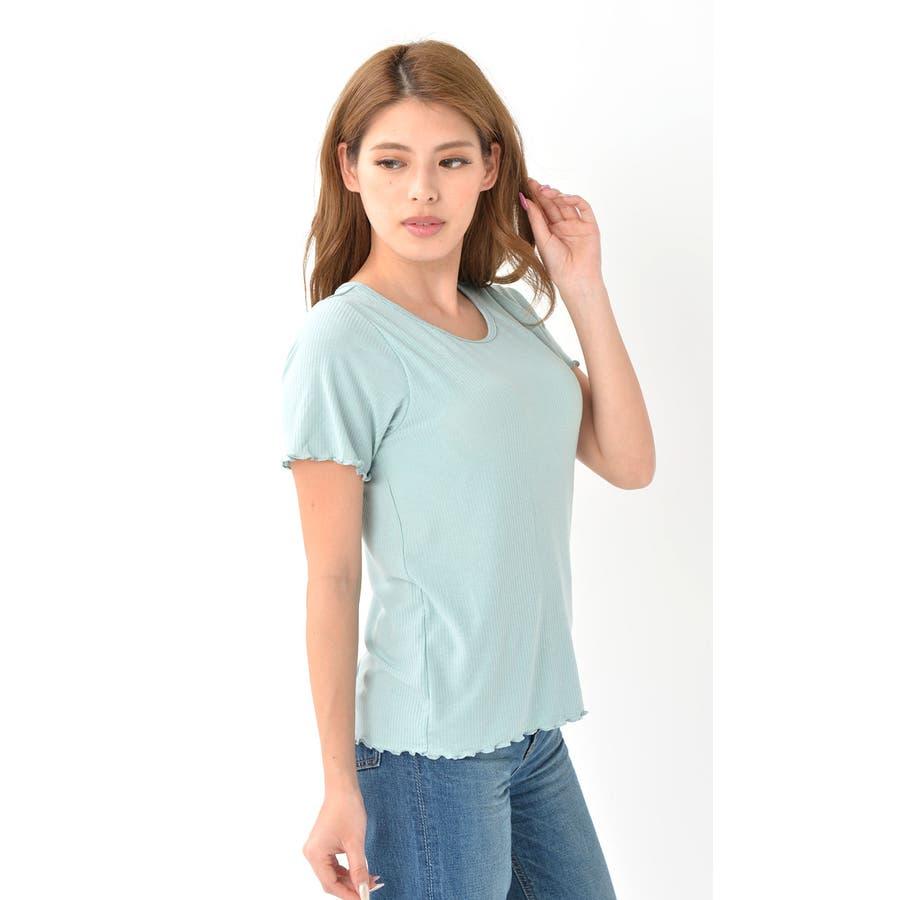 カップ付き リブ Tシャツ 半袖 綿 インナー レディース | ブラ ダンス ヨガ ヨガウェア ルームウェア ブラT さらさらナイトウェア ブラトップ ナイトブラ パッド付き 大きい サイズ 速乾 ストレッチ 伸縮性 通気性 締め付けない カットソー くつろぎ柔らか パジャマ 6