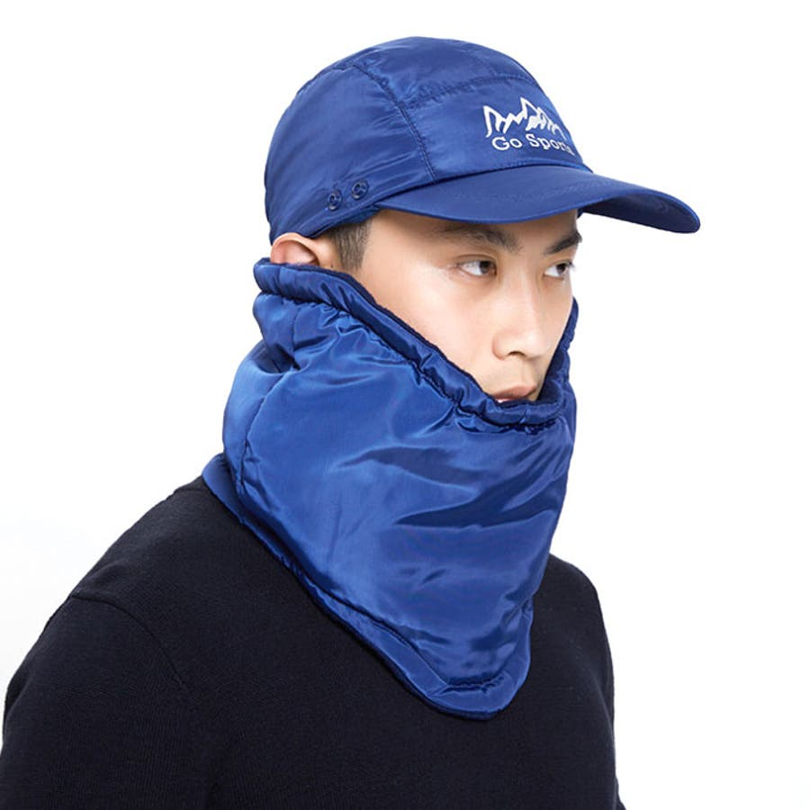 フェイスカバー付き キャップ 帽子 6