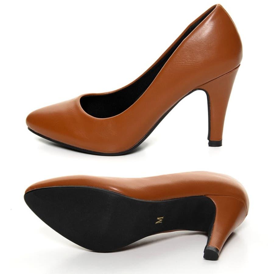 美脚9cmヒールなのに履きやすい理想の1足 9cmヒール4層クッションソールパンプス シューズ/パンプス/〜11cmヒール 5