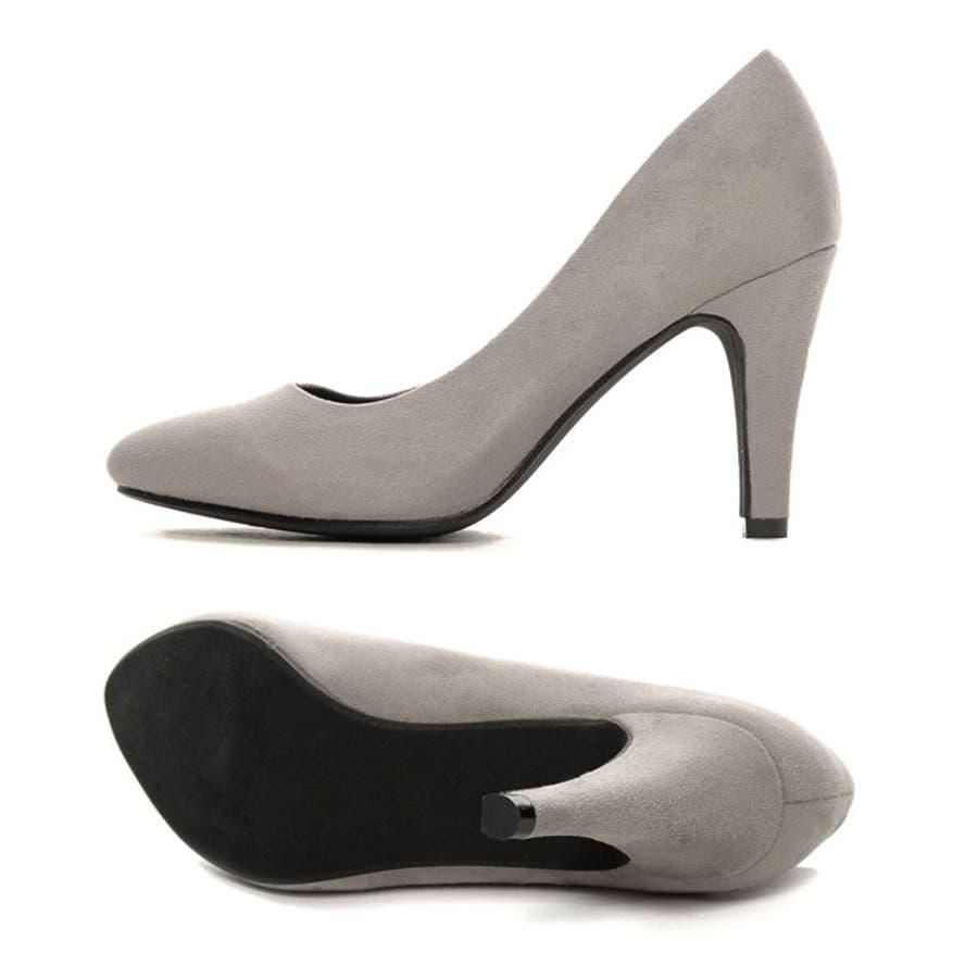 美脚9cmヒールなのに履きやすい理想の1足9cmヒール4層クッションソールパンプス[リエディオリジナル]シューズ/パンプス/〜11cmヒール オフィス 5