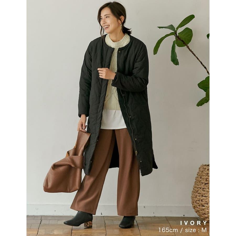 ひと味違う大人の女性の飾り編み かぎ編みニットトップス トップス/ニット/セーター 5
