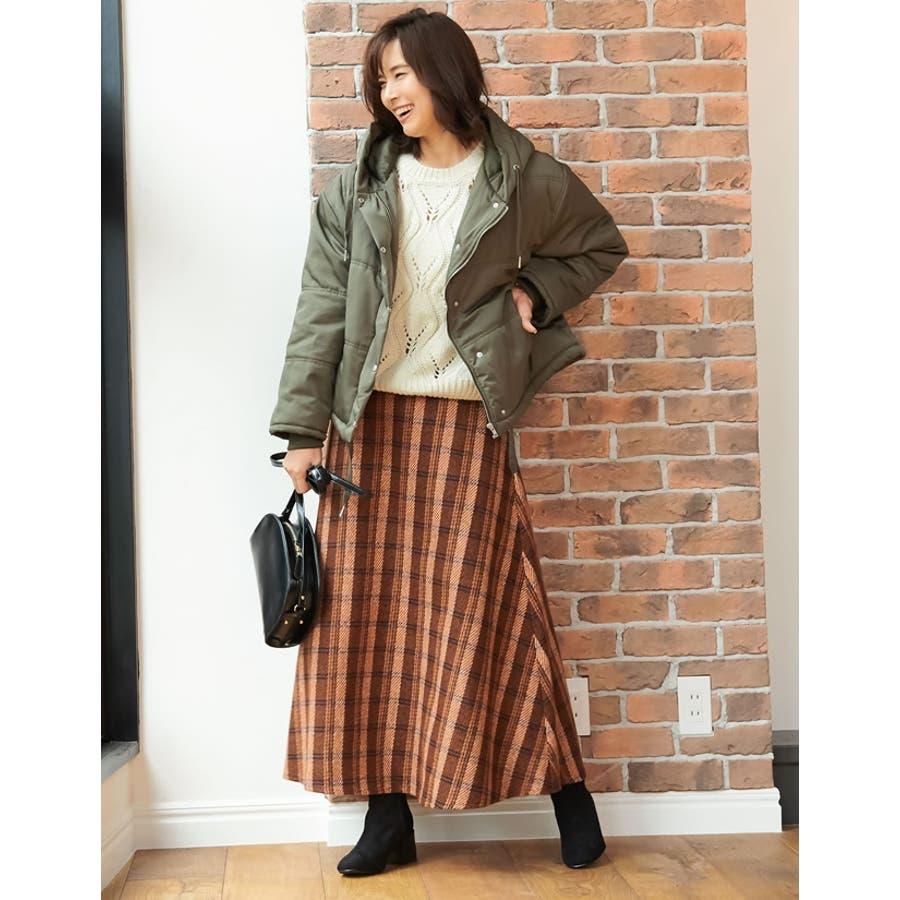 ひと味違う大人の女性の飾り編み かぎ編みニットトップス トップス/ニット/セーター 7