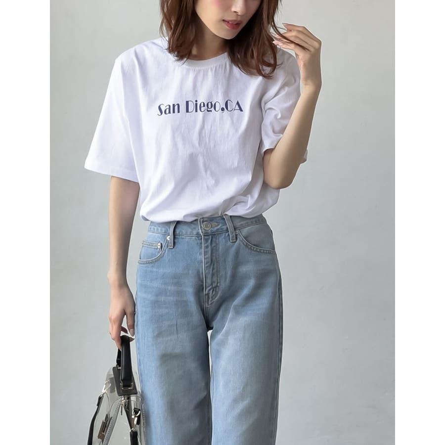 上品なロゴデザインでワンランク上のTシャツスタイルに 10