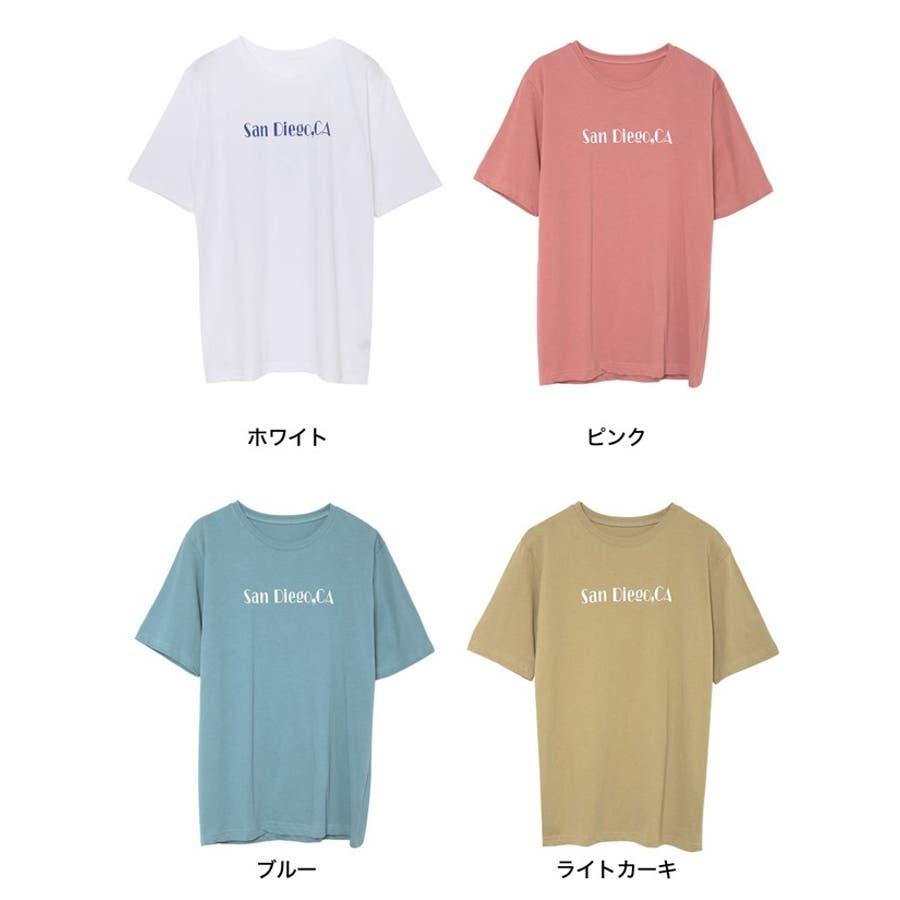 上品なロゴデザインでワンランク上のTシャツスタイルに 2