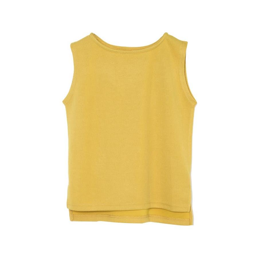カジュアルなのにしっかり高見えなサカリバトップス サカリバ生地クルーネックノースリーブトップス トップス/カットソー・Tシャツ 83