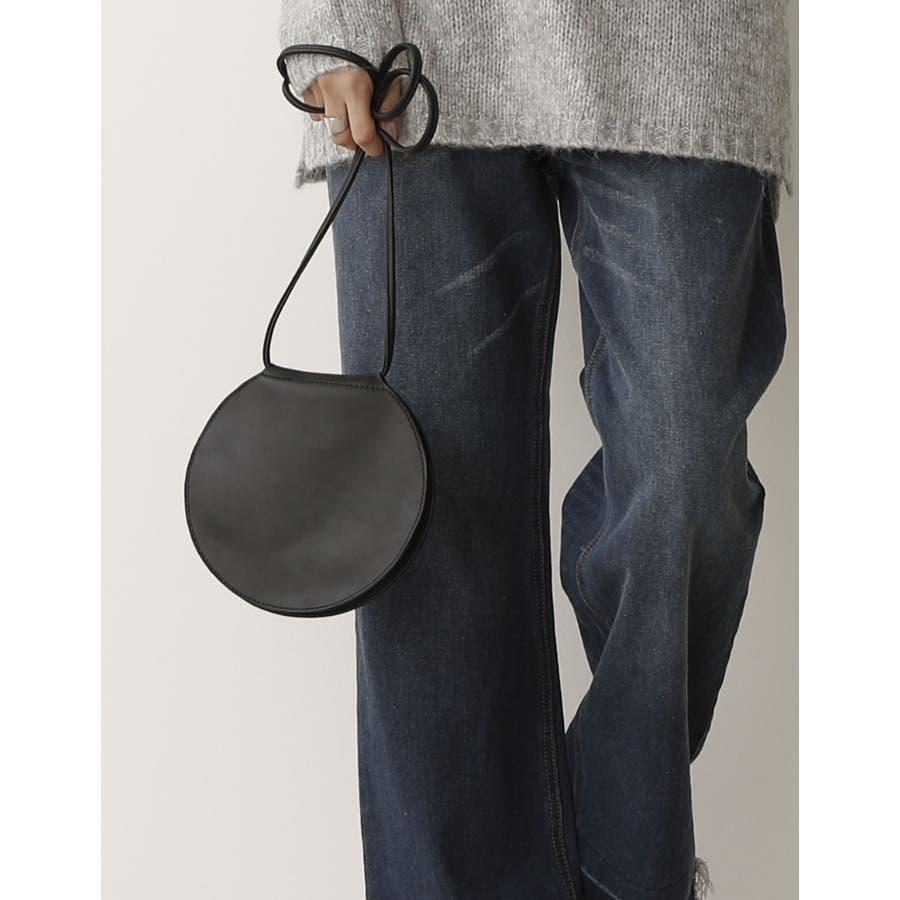 キャッシュレスな時代にぴったり!お財布兼バッグに カードケースサークルポシェット バッグ/ショルダーバッグ 21
