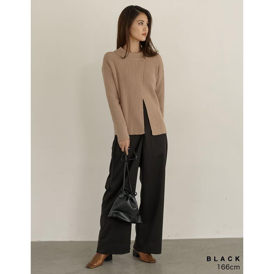 コンパクトサイズでちょっとしたお出かけにぴったり フェイクレザー巾着バッグ バッグ/ショルダーバッグ 6