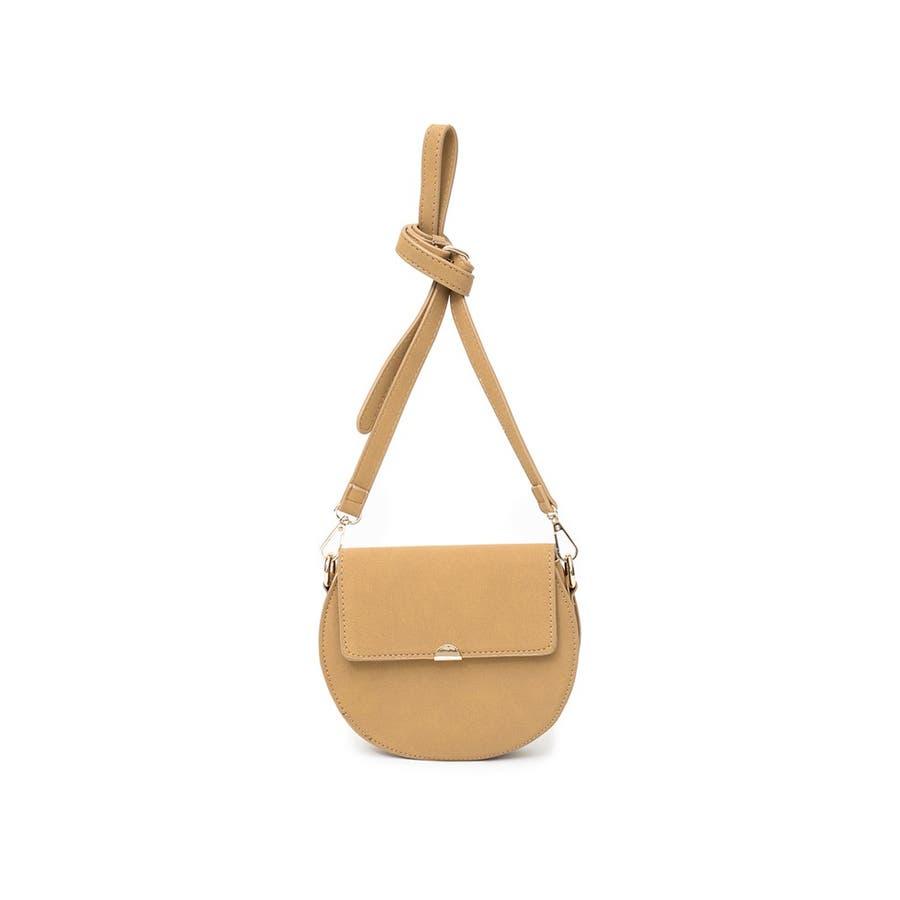 クラシカルなバッグで魅せる上品スタイル クラシカルハーフサークルショルダーバッグ バッグ/ショルダーバッグ 33