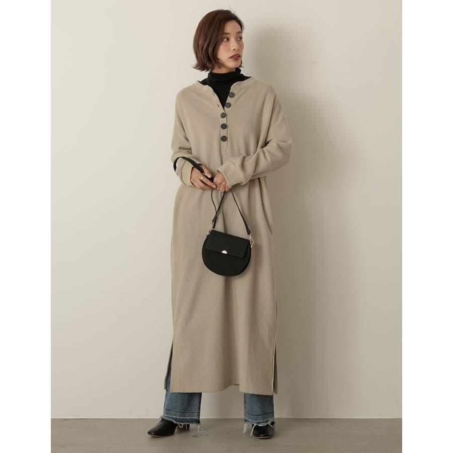 クラシカルなバッグで魅せる上品スタイル クラシカルハーフサークルショルダーバッグ バッグ/ショルダーバッグ 6