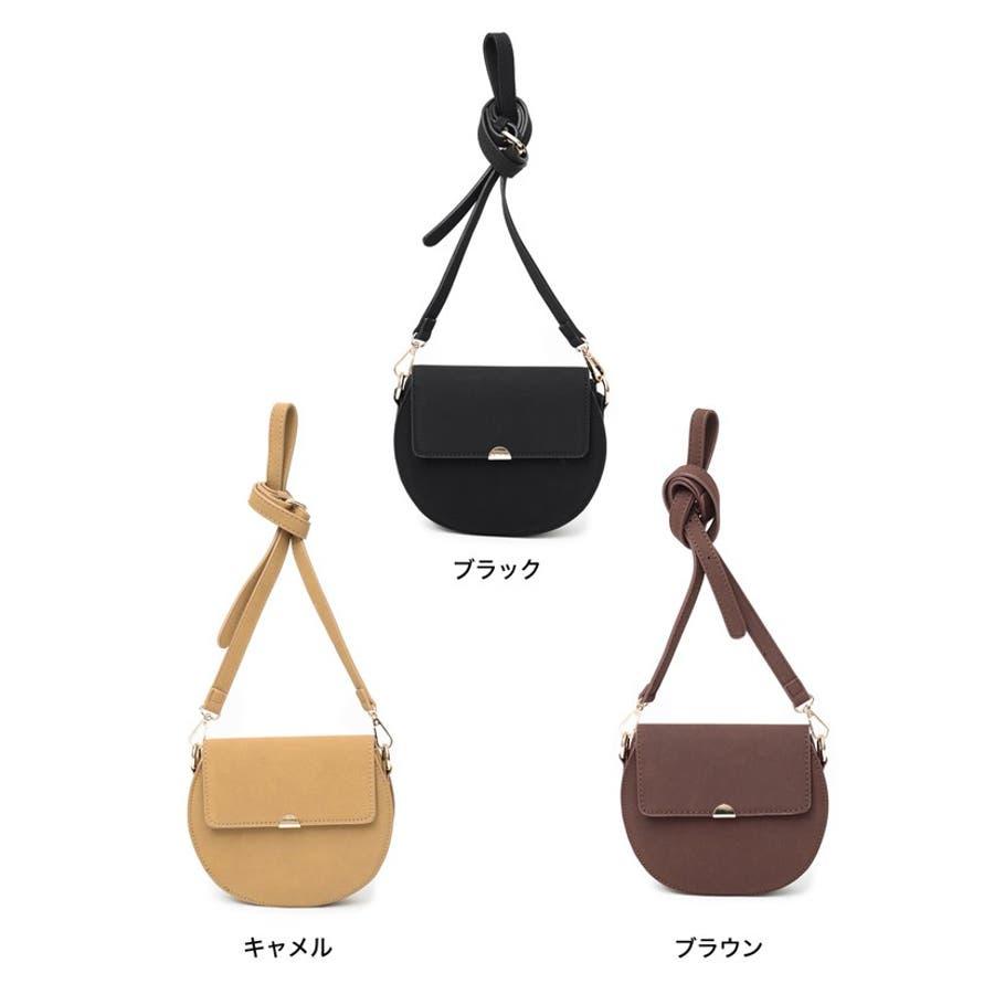 クラシカルなバッグで魅せる上品スタイル クラシカルハーフサークルショルダーバッグ バッグ/ショルダーバッグ 2