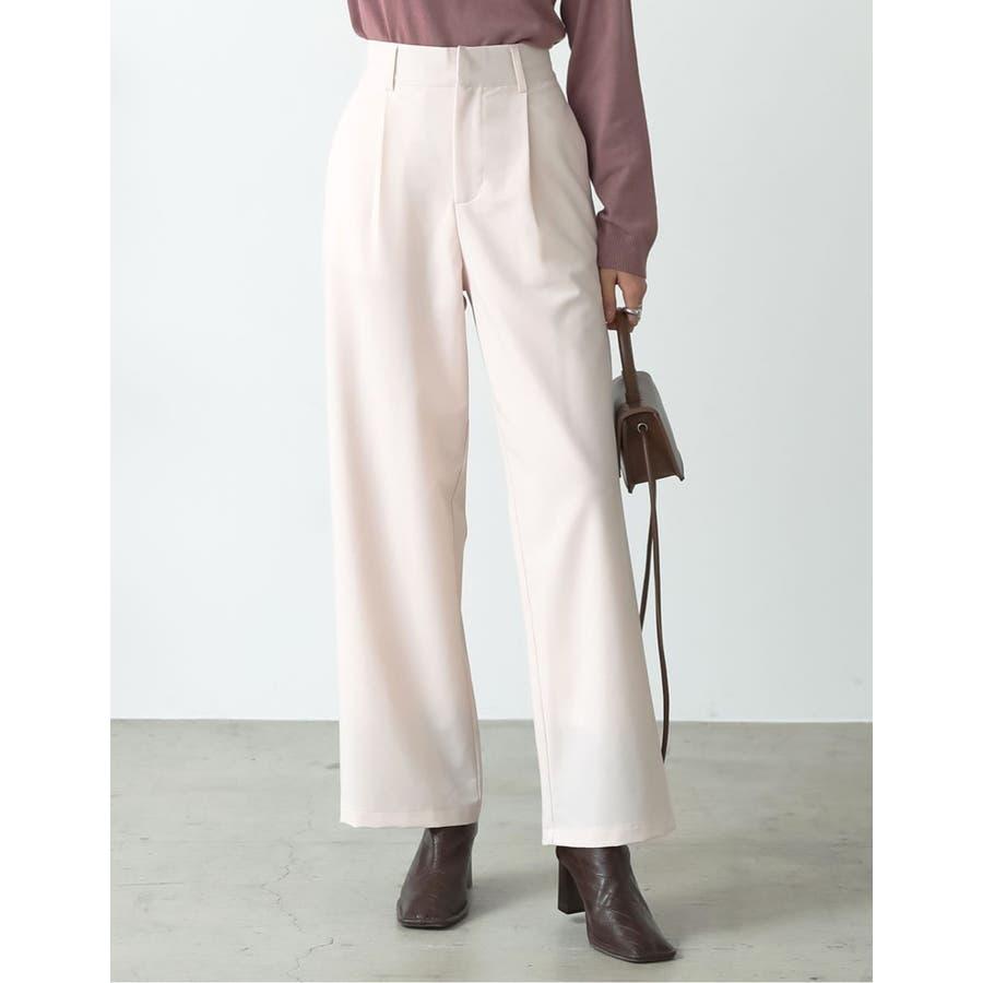 深みのある色合いが魅力のカラーパンツが登場 センタータックカラースラックスパンツ 20