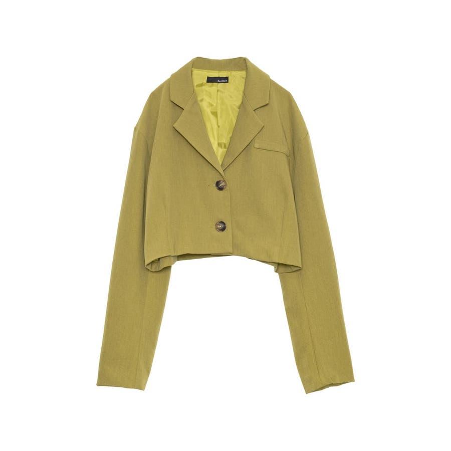 春まで待てない!今から着たいカラージャケット ショート丈スプリングジャケット ジャケット/アウター/テーラードジャケット 53