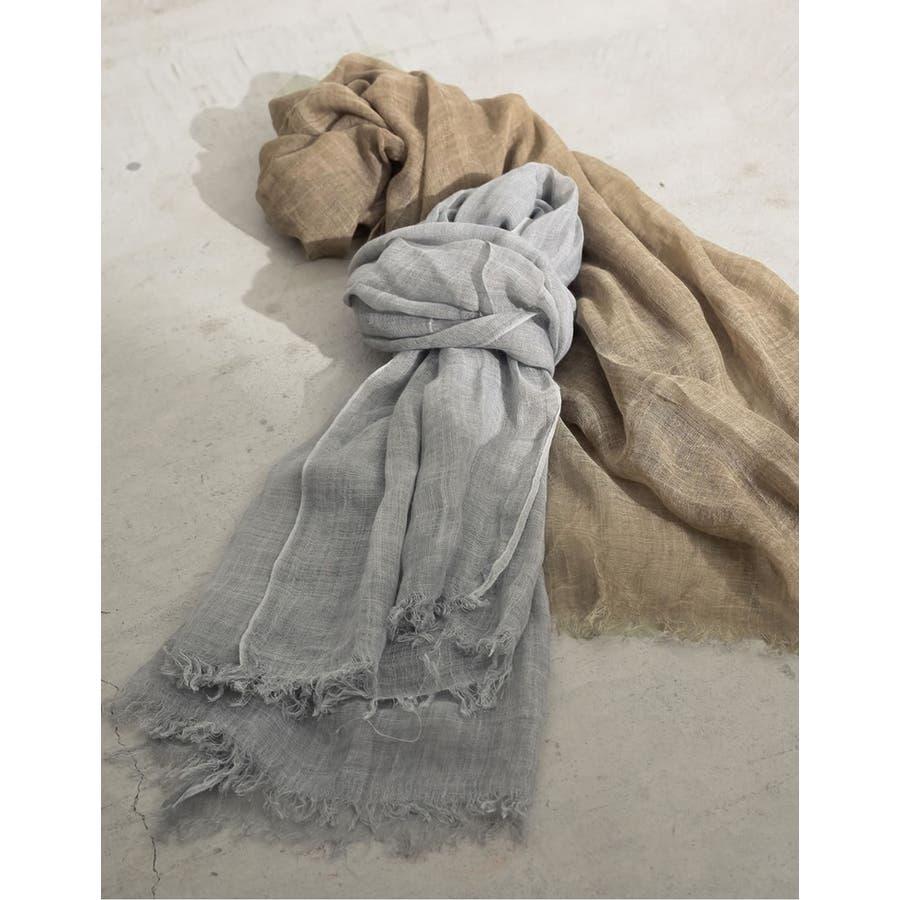 季節の変わり目の羽織りや夏の日焼け 冷房対策に サマーストール 7