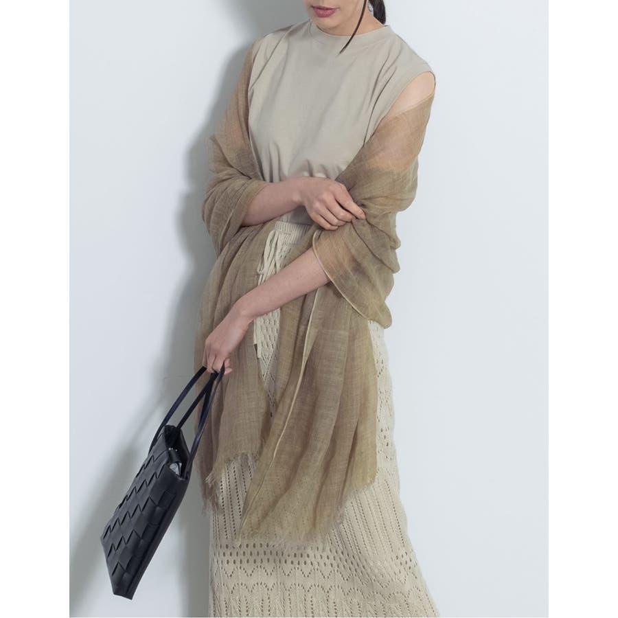 季節の変わり目の羽織りや夏の日焼け 冷房対策に サマーストール 8